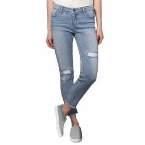 KENNETH COLE Women Jess Skinny Jeans Light Wash